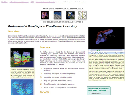 Environmental Modeling and Visulation Labratory-EPA-Intranet