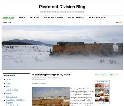 Piedmont Division Blog